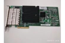 Carte PCIe NetApp X2065A-R6 111-00341+F1 Quad-port QSFP