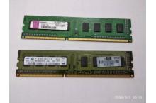 Mémoire PC3-10600U 1 Go marques variées