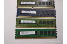Mémoire PC3L 4 Go 10600E marques variées