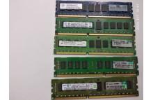 Mémoire PC3-10600R 2 Go marques variées