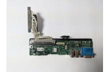 Panneau de contrôle i/o board Dell 0jh878 avec câble PowerEdge 2950 2900 1900