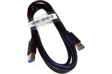 Câble USB 3.0 TYPE A vers type B 1.80 mètres pour imprimante scanner disque dur