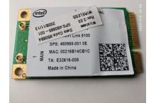 Carte WIFI mini PCIe HP 480985-001 Intel 512AN MMW
