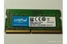 Mémoire Crucial 8 Go PC4-19200 DDR4-2400 SODIMM 1.2 V CL17 CT8G4SFS824A