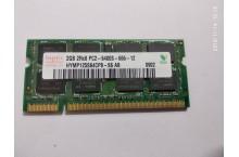 Mémoire portable PC2-6400S 2 Go Hynix HYMP125S64CP8 - S6