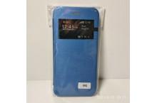 Coque flip cover pour Iphone 6 + film + stylet - BLEU