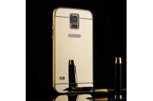 Coque samsung Galaxy S5 miroir or